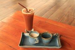 белизна путя кофейной чашки предпосылки изолированная espresso Стоковое фото RF
