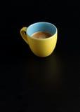 белизна путя кофейной чашки предпосылки изолированная espresso Стоковая Фотография