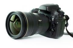 белизна путя клиппирования камеры предпосылки изолированная dslr Стоковое фото RF