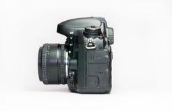 белизна путя клиппирования камеры предпосылки изолированная dslr Стоковая Фотография
