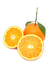 белизна плодоовощ предпосылки померанцовая Стоковое Изображение