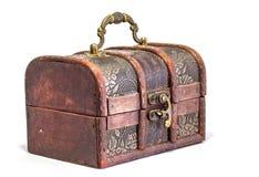 белизна драгоценности предпосылки изолированная коробкой Стоковое Изображение