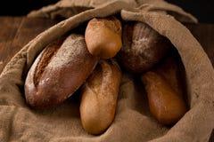 белизна рожи изоляции хлеба стоковое фото