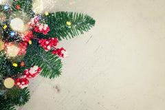 белизна рождества красная Стоковые Фото