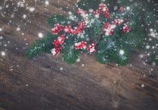 белизна рождества красная Стоковая Фотография RF