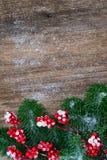 белизна рождества красная Стоковое Изображение