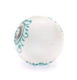 белизна рождества шарика Стоковое фото RF