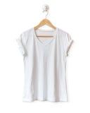 белизна рубашки t Стоковое Изображение RF
