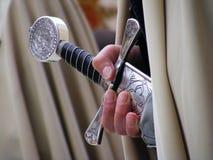 белизна рыцаря Стоковое Изображение RF