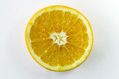 белизна свежих лимонов предпосылки зрелая Стоковые Изображения RF