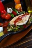 белизна серии изображения еды рыб выкружки предпосылки различная Стоковое фото RF