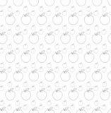 белизна серии фото предпосылки яблок Стоковые Изображения