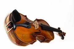 1 белизна скрипки размера 16 предпосылок Стоковые Изображения RF