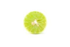 белизна сочной известки свежих фруктов предпосылки тропическая Стоковые Изображения RF