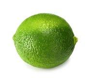 белизна сочной известки свежих фруктов предпосылки тропическая стоковые фото