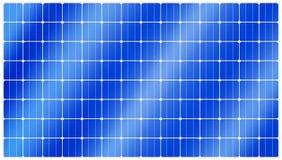 белизна солнца панели энергии изолированная рукой солнечная Стоковое Изображение