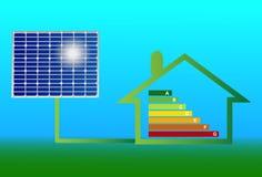 белизна солнца панели энергии изолированная рукой солнечная Стоковая Фотография