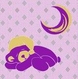 белизна спать медведя предпосылки стоковые фото