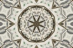 белизна стога долларов предпосылки Стоковые Изображения