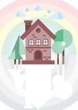 белизна структуры дома кирпича предпосылки бесплатная иллюстрация