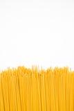 белизна студии спагетти съемки предпосылки стоковая фотография