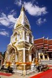 белизна Таиланда pagoda Стоковые Фотографии RF
