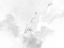 Белизна текстуры акварели серая Стоковые Изображения
