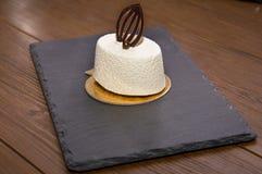белизна торта вкусная Стоковое Изображение RF
