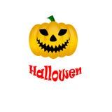белизна тыквы предпосылки изолированная halloween Стоковые Изображения RF