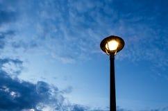 белизна улицы 8 изолированная eps светильников Стоковое Изображение