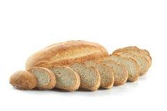 белизна хлеба свежая изолированная Стоковые Фотографии RF