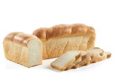 белизна хлеба свежая изолированная Стоковые Изображения
