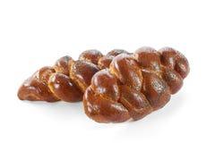 белизна хлеба свежая изолированная Стоковое Изображение RF