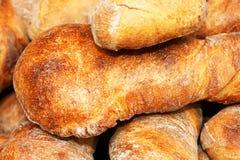 белизна хлеба французская Стоковые Фото