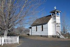 белизна церков малая Стоковые Изображения RF