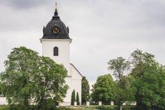белизна церков старая каменная Стоковая Фотография