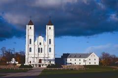 белизна церков Стоковое Изображение RF