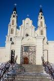 белизна церков Стоковые Изображения