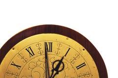 белизна часов предпосылки старая Стоковые Изображения RF
