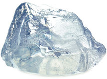 белизна льда кубика предпосылки Стоковое фото RF