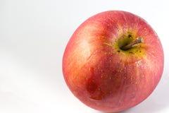 белизна яблока красная Стоковые Фотографии RF