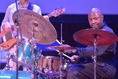 Белизна Lenny во время фестиваля джаза Sib Стоковые Изображения RF