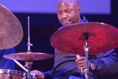 Белизна Lenny во время фестиваля джаза Sib Стоковое Изображение RF