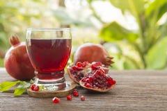 белизна pomegranate сока иллюстрации конструкции предпосылки Стоковое Изображение RF