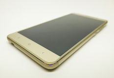 белизна smartphone фонового изображения 3d Стоковые Изображения RF