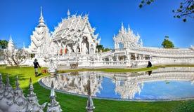 белизна wat Таиланда виска задачи rong rai khun красивейшего chiang привлекательностей искусства культурная чувствительная Стоковые Изображения