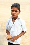 бедные мальчика Стоковые Фото