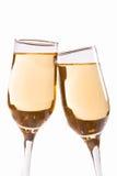 Белое вино/шампанское Стоковое Фото
