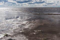 Белое море в России Стоковое Фото