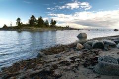 Белое море Стоковые Изображения RF